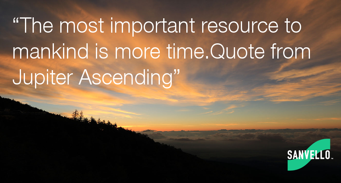 the most important resource to mankind is more time quote from