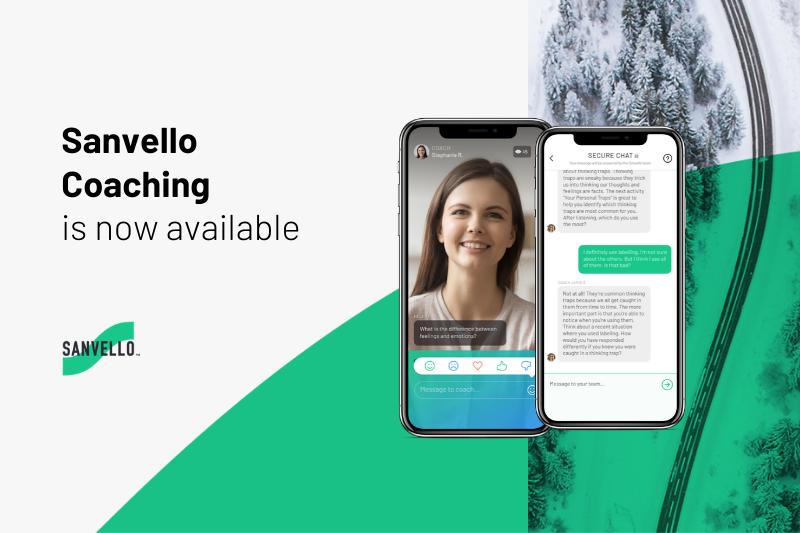 sanvello coaching screenshot image