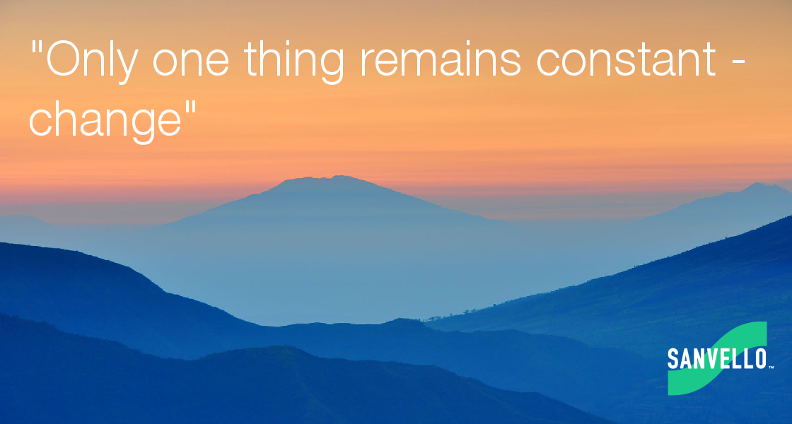 the only thing that remains constant is change