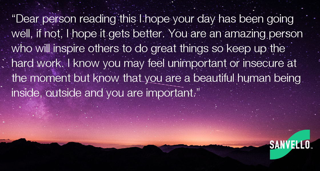 Dear Person Reading This I Hope Your Day Has Been Going Well If