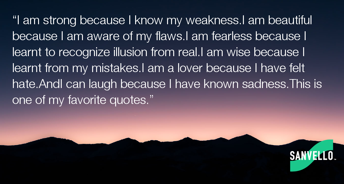 I Am Strong Because I Know My Weaknessi Am Beautiful Because I Am